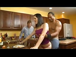 Wifey Humiliates Hubby Being Fucked By Her Black Lover.