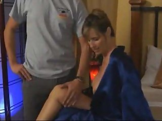 Jodi West - My perverted step son is spying and gets caught