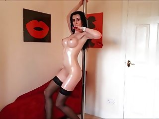 Great boobs, great ass and great pole dancing skills