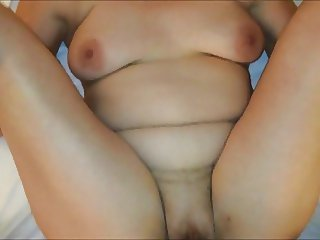 Cum Oozing From her Mature Pussy