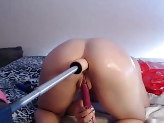 Sex Machine Anal Squirt
