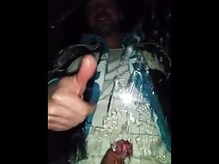 WTF. Straight Best Buddy Cum On Car Window.