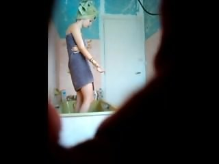 Voyeur shower cam. Meet her on dates25.com