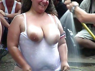 Amateur Wet T-Shirt Contest - Ponderosa 2012