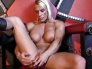mature female bodybuilder with big clit