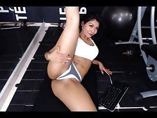 Fat Ass Hot Latina Workout Part 5