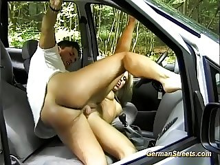pickup stepmom for backseat anal sex