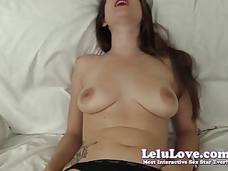 Lelu Love-Caught Her Masturbating Cheating Virtual Sex