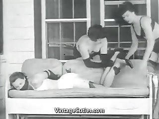 Girl and Her Perverted lover (1950s Vintage)