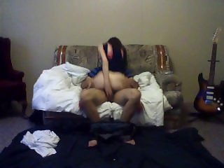 rough blowjob and sex video between an amateur couple