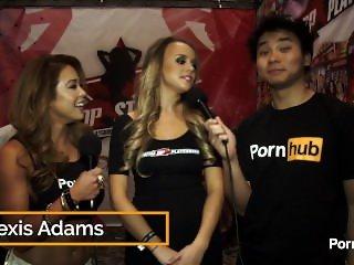 PornhubTV Alexis Adams Interview at 2015 AVN Awards