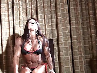 Tight hot muscle goddess