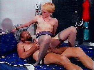 Short Hair Blonde Fraulein & Beardy Herr