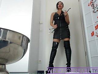 Asian Mistress PornbabeTyra hard humiliation and domination