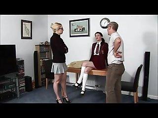 lady spanking Men