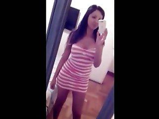 Novinha Argentina fez video para o whats