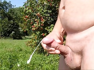 SandrotheBest cumshot outdoor public full naked sunny