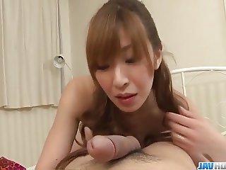 Sexy POV show with alluring babe Koda Riri