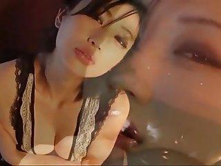 Curvy Japanese Mitsu Dan French Maid