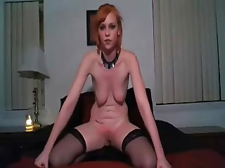 My stupid slave self spanking for me. Amateur