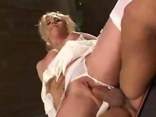 First anal night with sexy slut bride