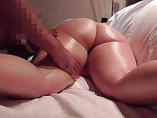 HotWife Koukouva Ass Massage Rewarded with Handjob