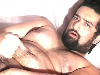 Juicy Hunk Beard Cum and Sperm 6