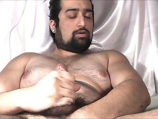 Juicy Hunk Beard Cum and Sperm 2