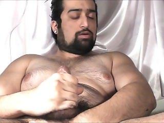Juicy Hunk Beard Cum and Sperm 2