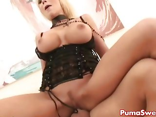 European babe Puma Swede Gets Fucked Right by Justice!