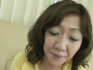 Japanese Chubby Big clit Mature Eriko Nishimura 51years