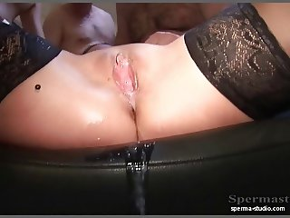 Extreme Creampies & Cumshots - Sexy Natalie T1.. :
