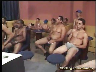 extreme brazilian gangbang orgy