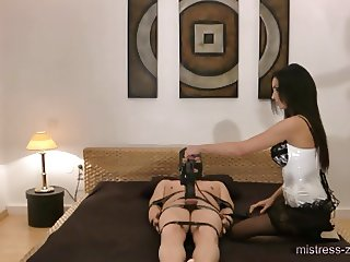 Mistress-Zita.com - Pump his small dick up