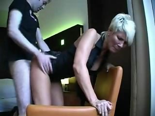 Launa from 1fuckdate.com - German milf in her first porn movi