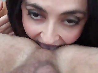 sexy Rimjob - Facial