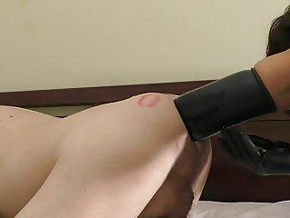 FEMDOM: Huge 26' strapon, deep fisting & more