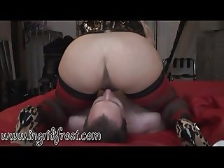 LICK MY  PUSSY  AND ASS WORM !  WORSHIP  YOUR  GODDESS  !