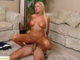 Busty Cougar Jennifer Best Fucked