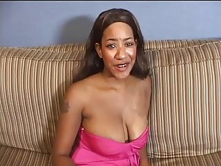 Big Ebony Tits with creampie