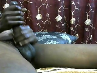 African with big dick cumming on cam