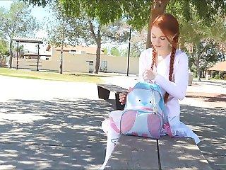 Redhead Schoolgirl
