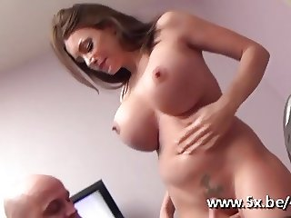 Hot cougar with big boobs fucked