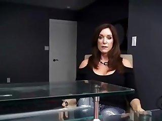 Hot Mom have to fuck with not her 2 sons