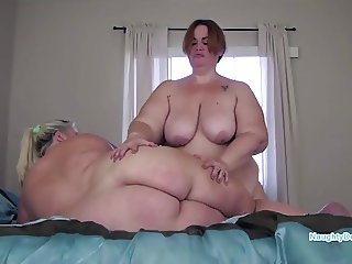 Naughty Desiree and Jezabel lots of curvage