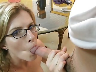 Young Stepmom Seduces Not Real Son Part II