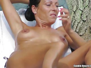 Sexy Topless Bikini Babes flashing their assets