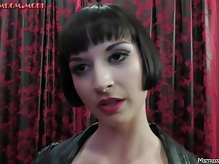 Miss Vera trains the pain pig in femdom with no mercy