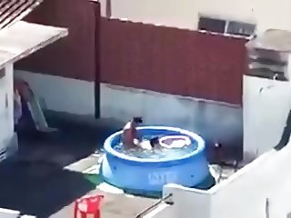 Sex in the swimming pool
