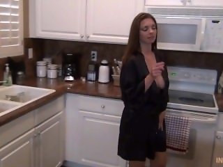 Not Mom From LOCALMILF.INFO in Kitchen with not son